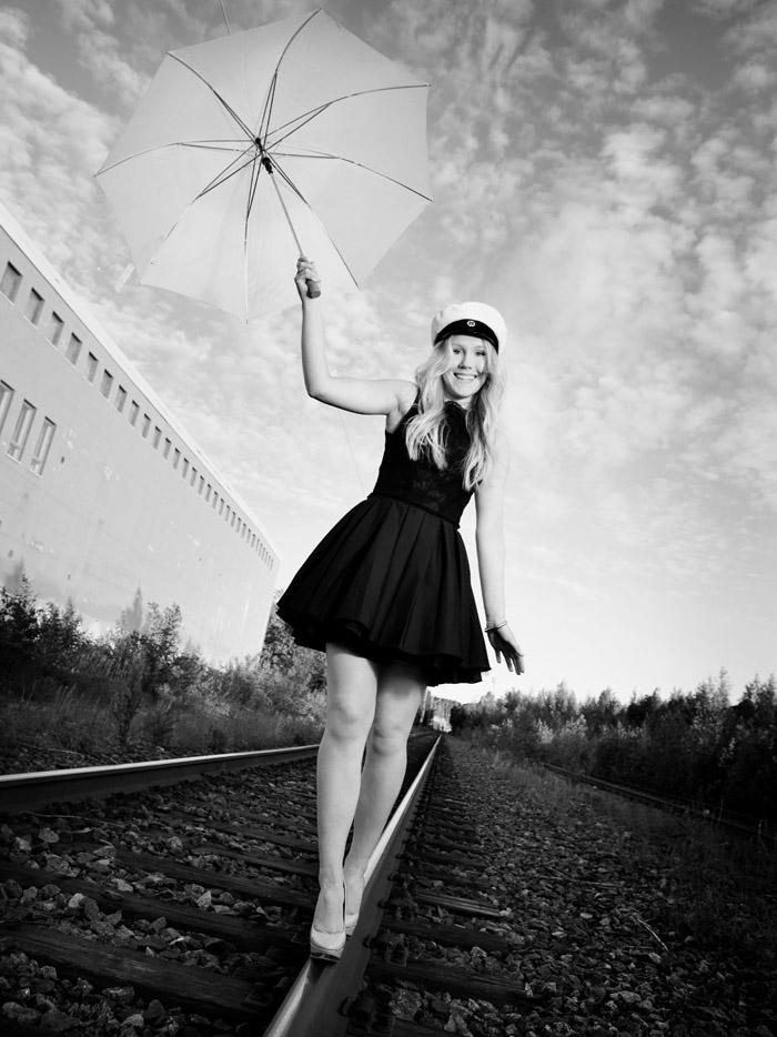 Ylioppilaskuvaus miljöössä - Valokuvaaja - Studio Liikkuva