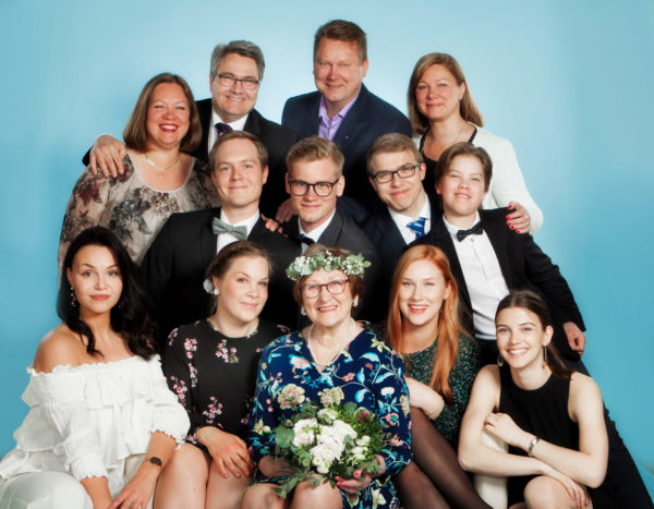 Perhe- ja ryhmäkuvaus - Turussa - Studio Liikkuva