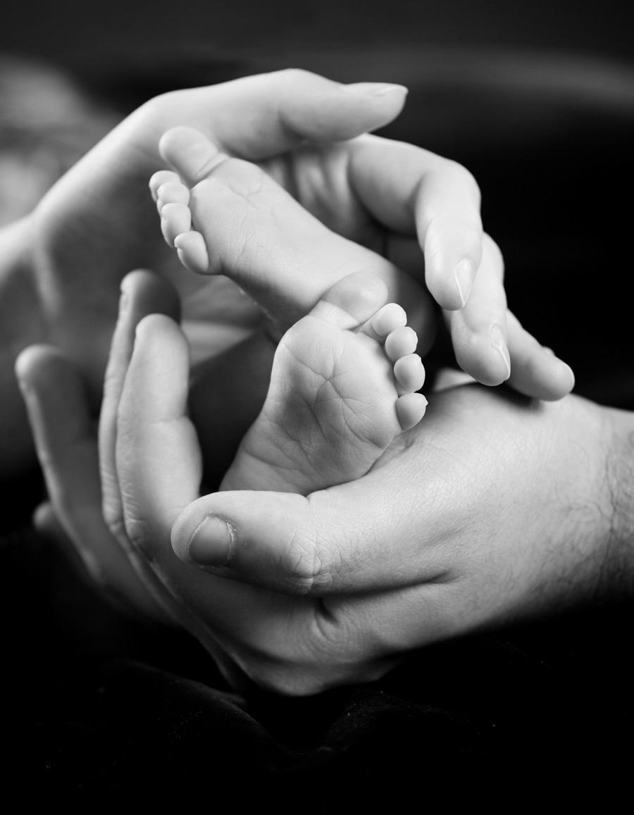 Newborn vauvakuvaus Turku- Studio Liikkuva