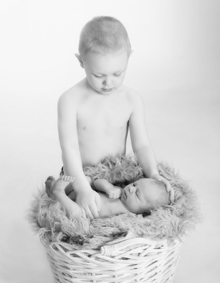 Newborn vauvakuvaus Turku - Studio Liikkuva